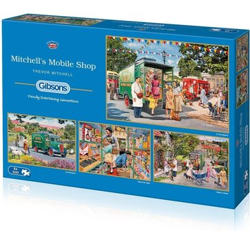 Gibsons Mitchell's Mobile Shop 4x 500 Pieces