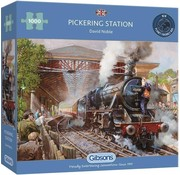 Gibsons Pickering Station 1000 Puzzle Pieces
