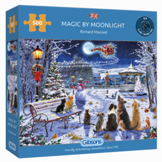Gibsons Magic by Moonlight 500 Puzzle Pieces