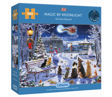 Gibsons Magic by Moonlight Puzzel 500 Stukjes