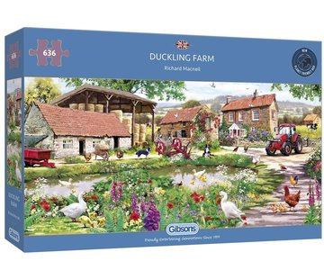 Gibsons Duckling Farm Puzzel 636 Stukjes