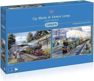 Gibsons Up Main & Down Loop 2x 500 Stukjes