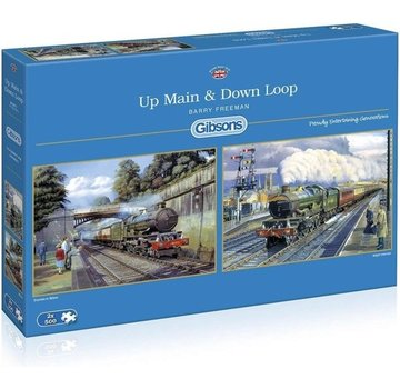 Gibsons Up & Down Main Loop 2 x 500 Pieces