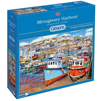Gibsons Mevagissey Harbour Puzzel 1000 Stukjes