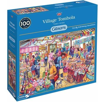 Gibsons Village Tombola 1000 Pieces