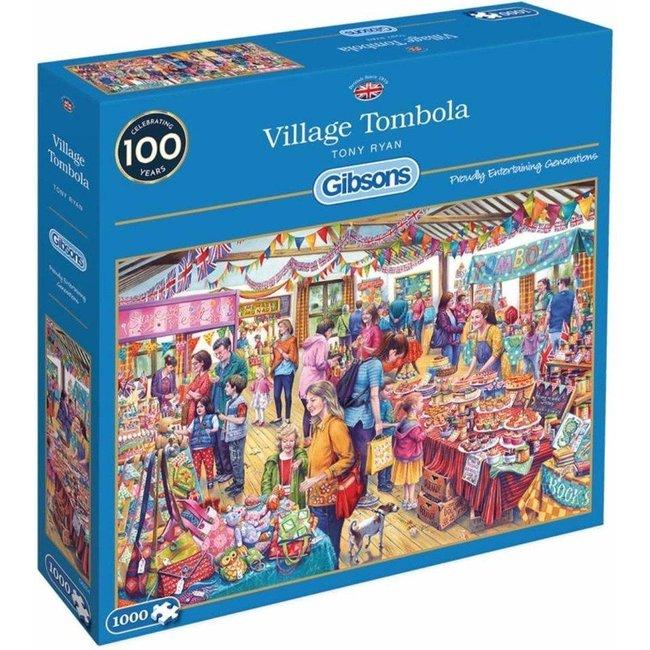 Gibsons Village Tombola Puzzel 1000 Stukjes