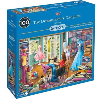 Gibsons The Dressmaker's Daughter 1000 Puzzle Pieces