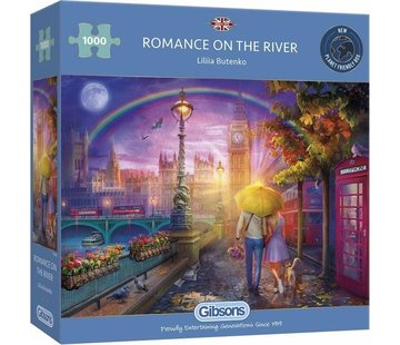 Gibsons Romance on the River Puzzel 1000 Stukjes