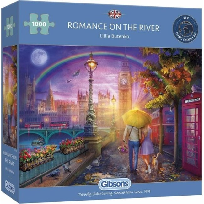 Gibsons Romantik auf dem Fluss 1000 Puzzle Pieces