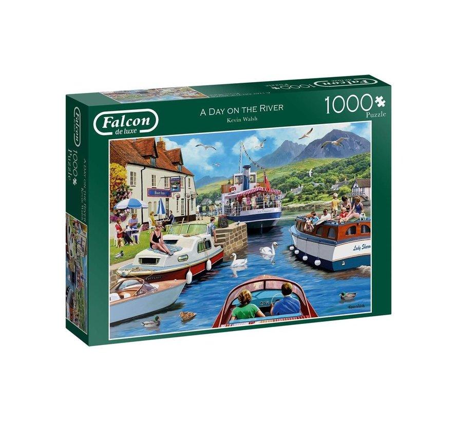 A Day on the River Puzzel 1000 Stukjes