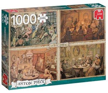 Jumbo Anton Pieck Living Room Puzzel 1000 Stukjes
