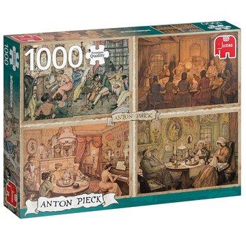 Jumbo Anton Pieck 1000 Living Room Puzzle Pieces