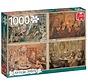 Anton Pieck Living Room Puzzel 1000 Stukjes