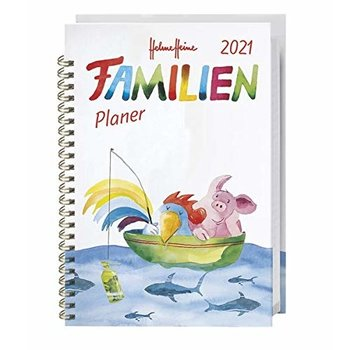 Heye Helme Heine Agenda 2021 Family Notebooks
