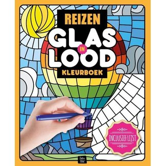 Inter-Stat Travel Stained Glass Coloring Book