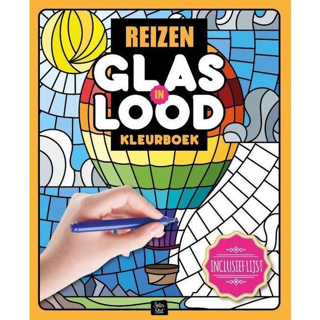 Inter-Stat Reizen Glas in Lood Kleurboek