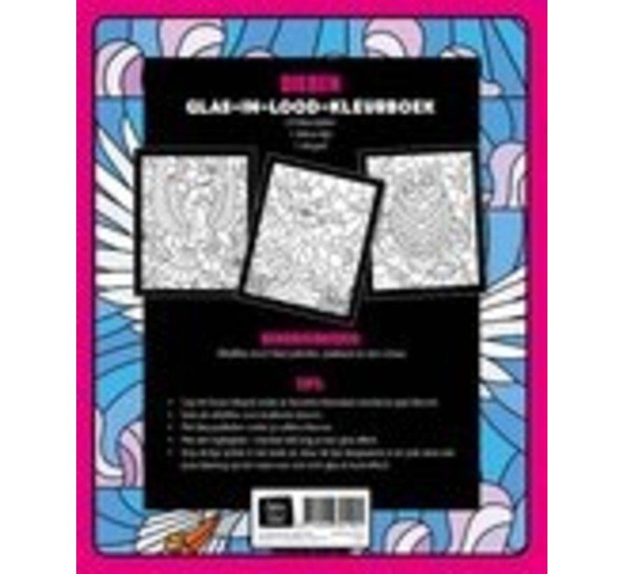 Dieren Glas in Lood Kleurboek