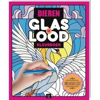 Inter-Stat Dieren Glas in Lood Kleurboek