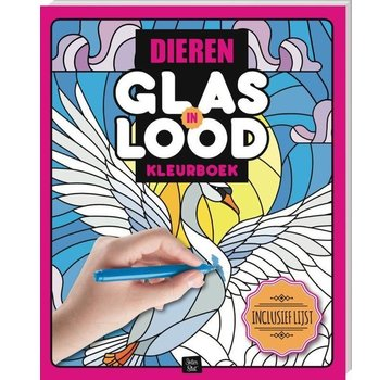 Inter-Stat Animals Stained Glass Coloring Book
