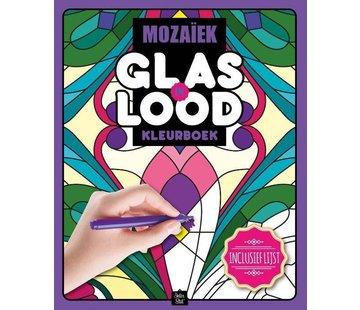 Inter-Stat Mozaïek Glas in Lood Kleurboek