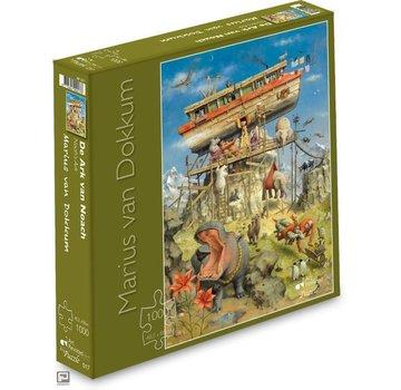 Art Revisited Marius van Dokkum Ark van Noach Puzzel 1000 Stukjes