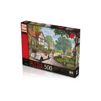 KS Games Ein Weg mit Puzzle 500 Stück