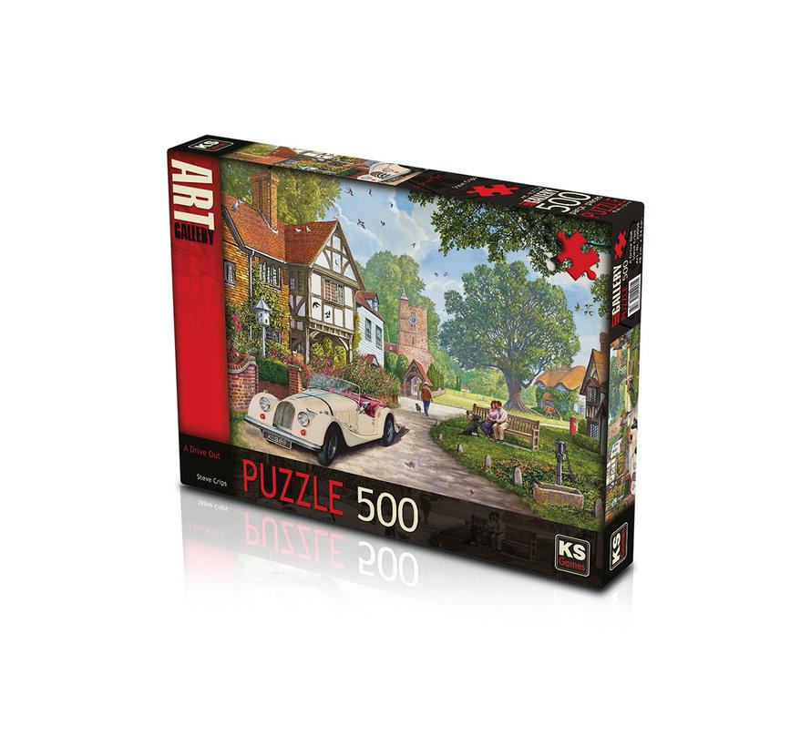 A Drive Out Puzzel 500 Stukjes
