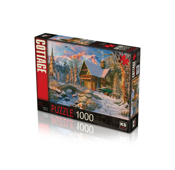 KS Games Winter Holiday 1000 Puzzle Pieces