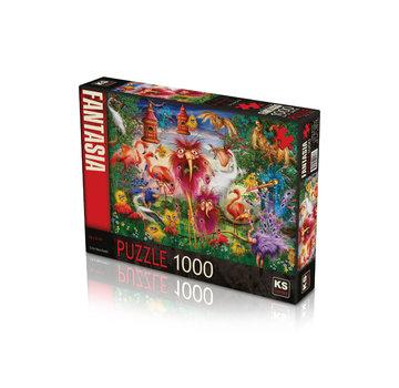 KS Games Ugly Birds Puzzel 1000 Stukjes