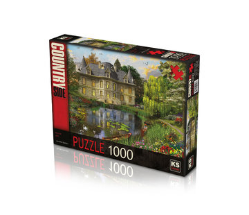 KS Games Mansion Lake Puzzel 1000 Stukjes