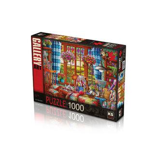 KS Games Stitching Room Puzzel 1000 Stukjes