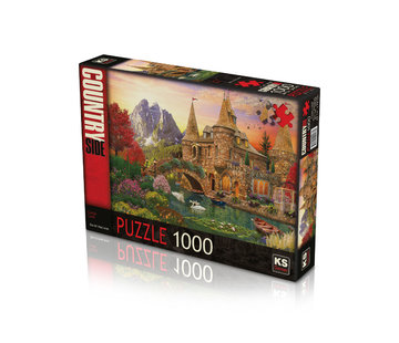 KS Games Castle Land Puzzel 1000 Stukjes