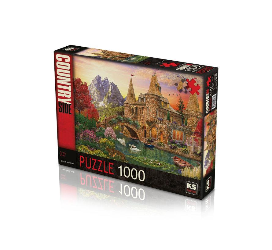Castle Land Puzzel 1000 Stukjes