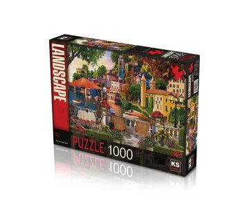 KS Games Italian Coast 1000 Puzzle Pieces
