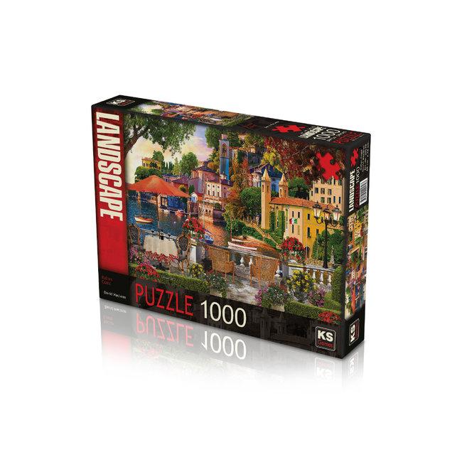 KS Games Italienische Küste 1000 Puzzle Pieces