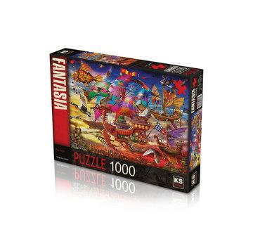 KS Games The Flight 1000 Puzzle Pieces