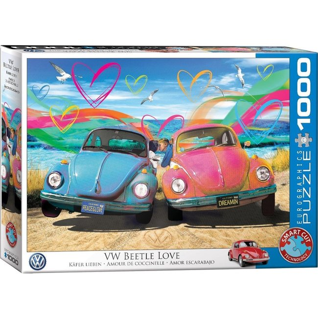 Eurographics VW Beetle Love - Parker Greenfield 1000 Puzzle Pieces