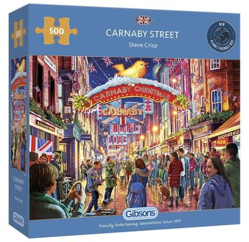 Gibsons Carnaby Street Puzzle 500 Pieces