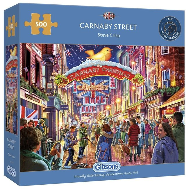 Gibsons Carnaby Street Puzzle 500 Stück