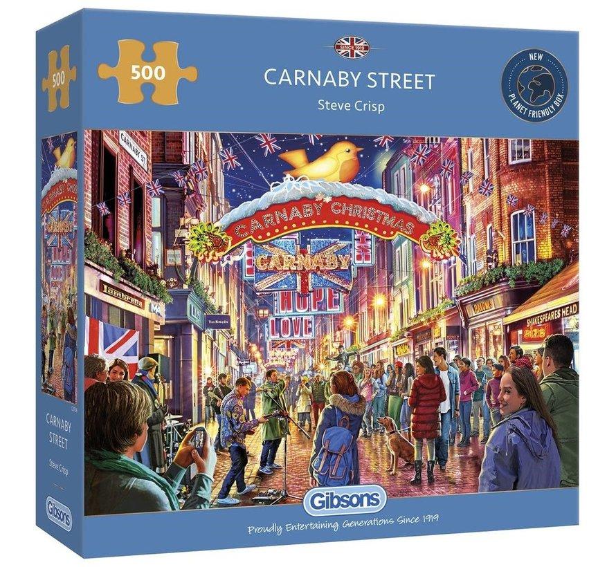 Carnaby Street Puzzel 500 Stukjes