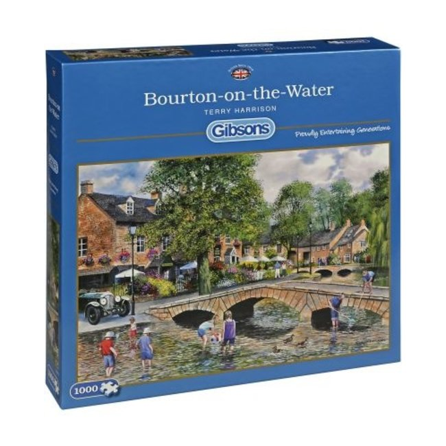 Gibsons Bourton on the Water Puzzle 1000 Stück