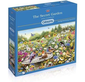 Gibsons The Secret Garden Puzzle 1000 Pieces