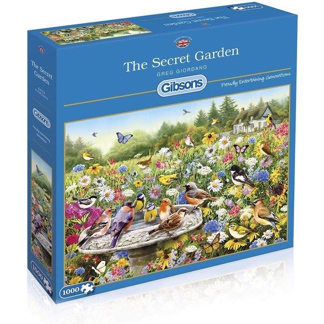 Gibsons Das geheime Garten Puzzle 1000 Stück