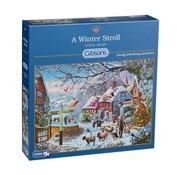Gibsons A Winter Stroll Puzzel 1000 Stukjes