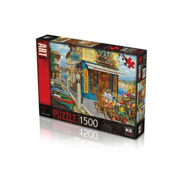KS Games Ristorante Vecchia Urbino 1500 Puzzle Pieces