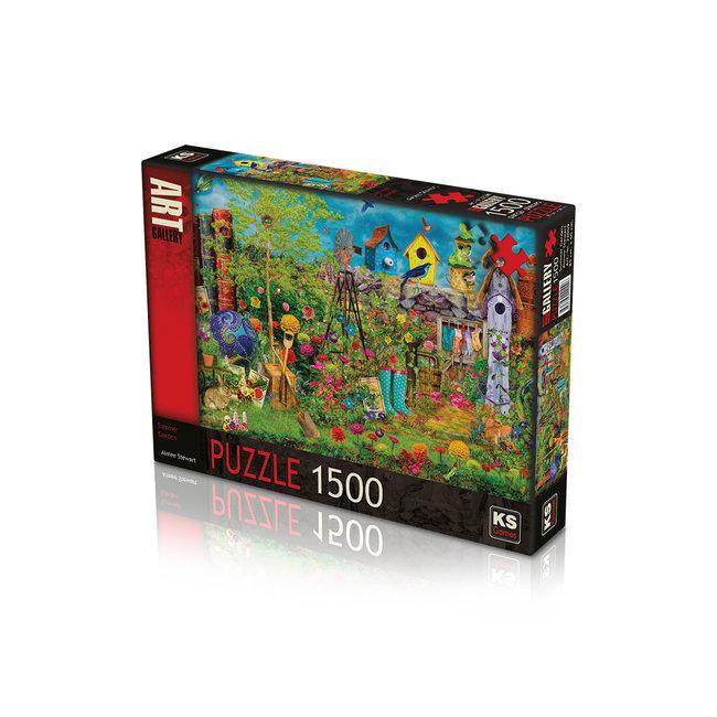 KS Games Summer Garden Puzzel 1500 Stukjes