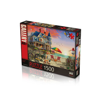 KS Games Summer House Puzzel 1500 Stukjes