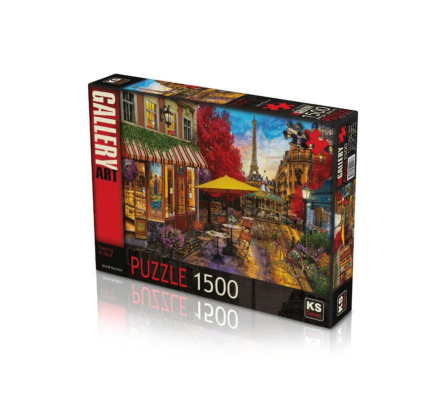 Evening In Paris Puzzel 1500 Stukjes