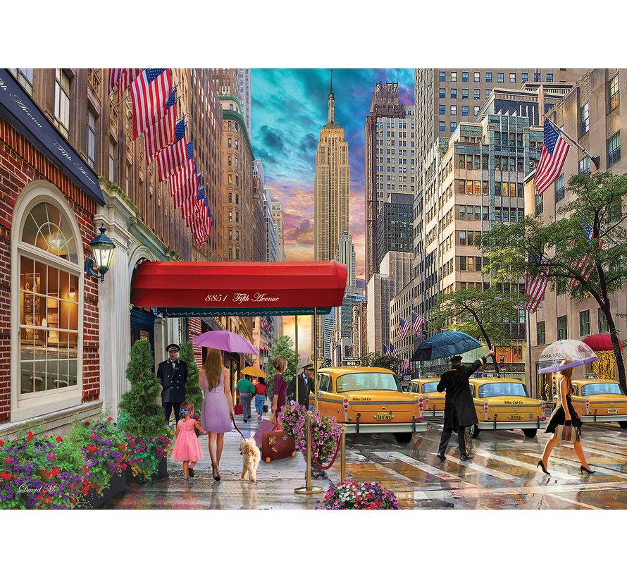 Fifty Avenue NYC Puzzel 1500 Stukjes