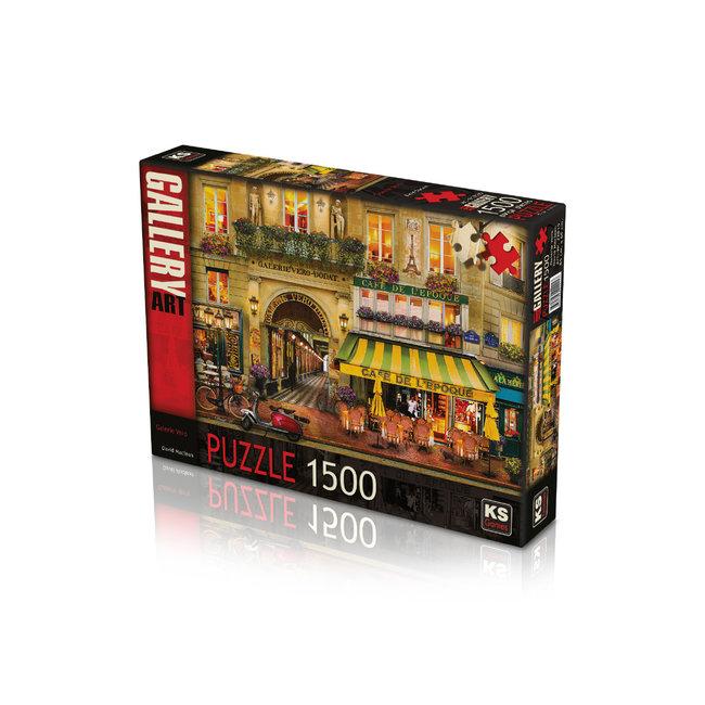 KS Games Galerie Vero Puzzel 1500 Stukjes
